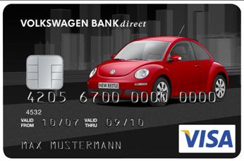 Volkswagen Bank Card