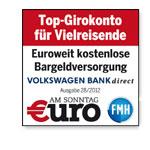 Volkswagen Bank Girokonto Test