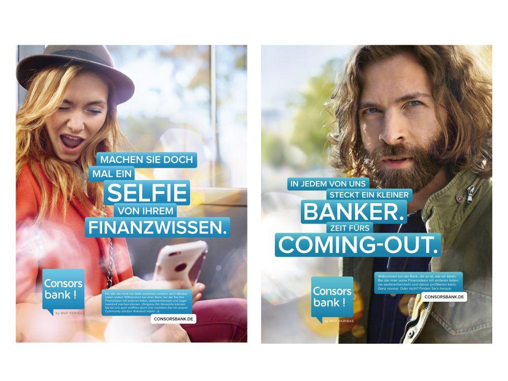 Consors Bank Werbung