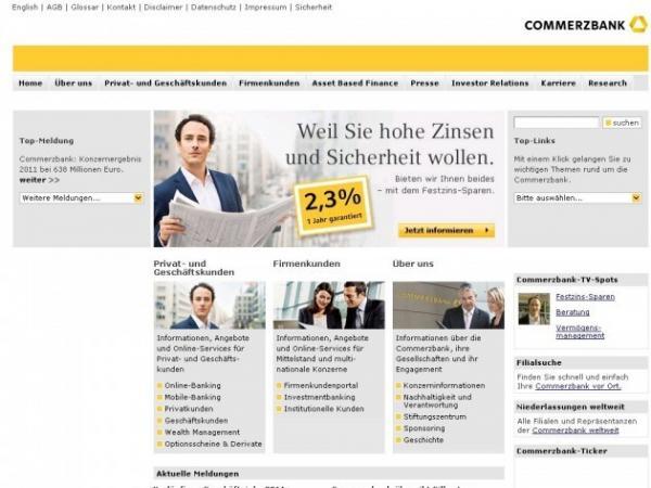 Commerzbanking.de Online