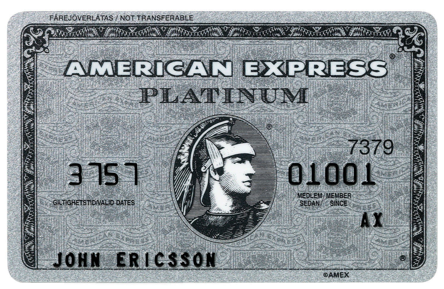 call american express platinum