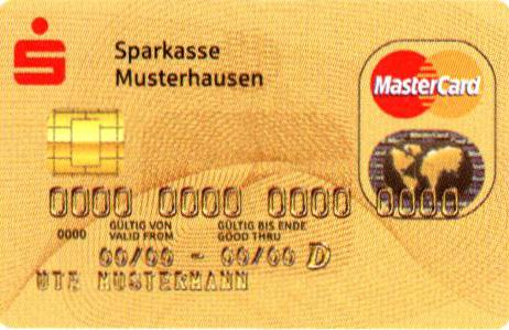 Kreditkarte Sparkasse.