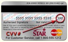 sicherheitscode bei kreditkarte