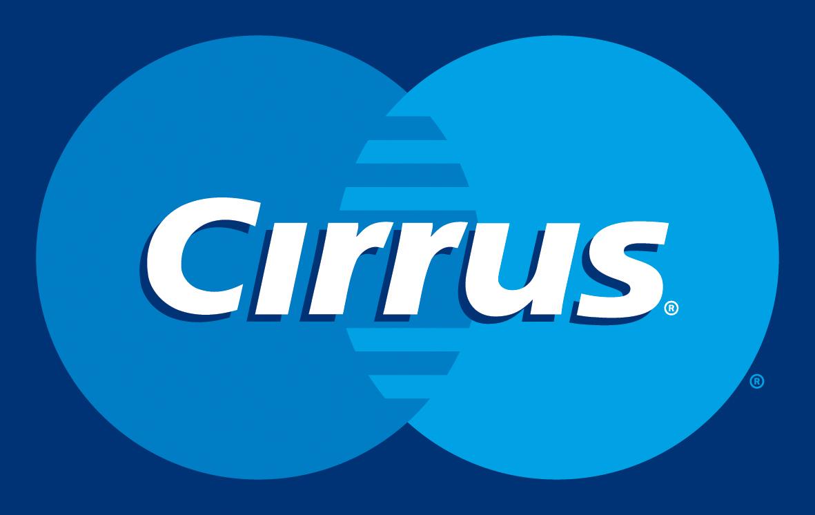 Cirrus Karte Logo, Cirrus Card