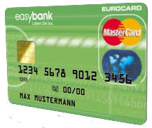 easybank Bankomatkarte