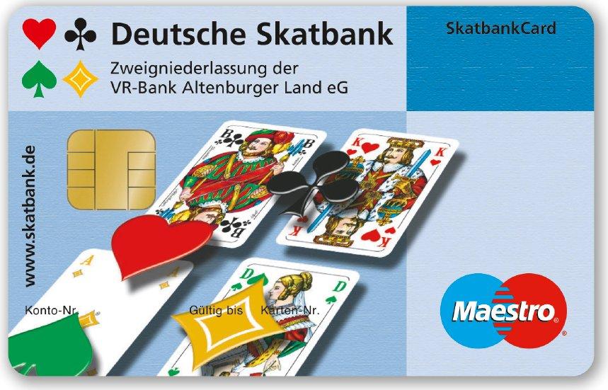 Skatbank EC Karte