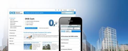 DKB Mobile Banking Webseite Login