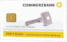 HBCI Chipkarte Commerzbank