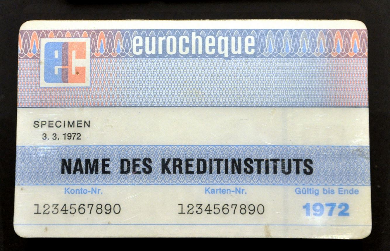 Eurocheque Karte