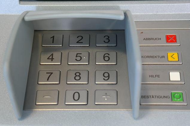 Geldautomat, Skimming