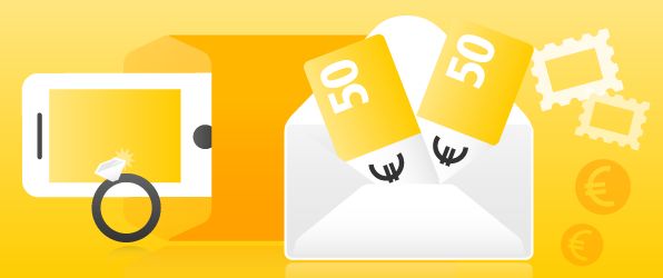 Geld per Post mit Wertbrief verschicken