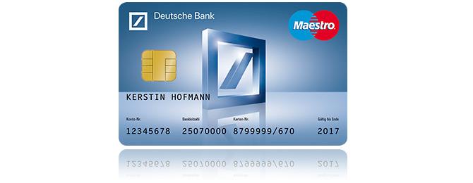 Deutsche Bank EC Karte