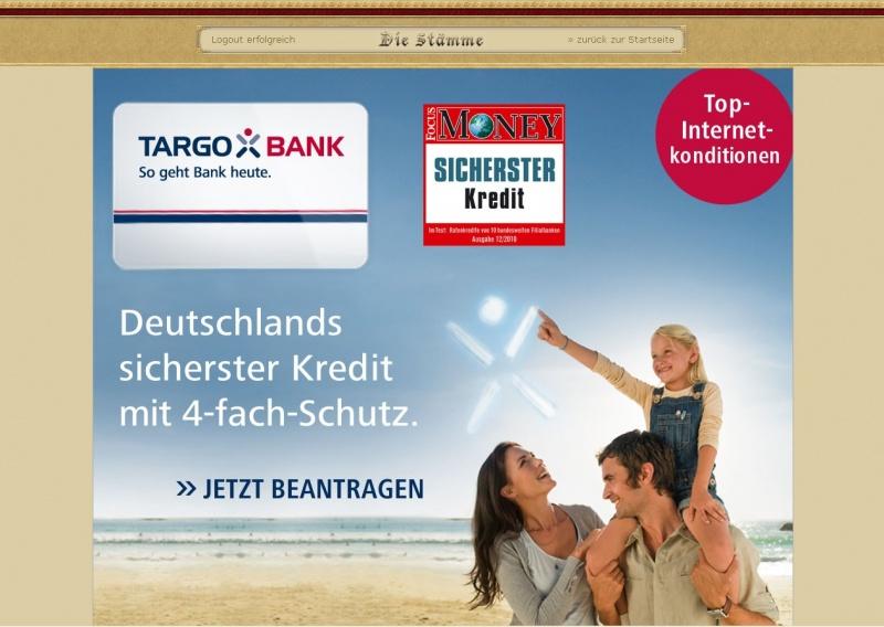 Targobank Werbung