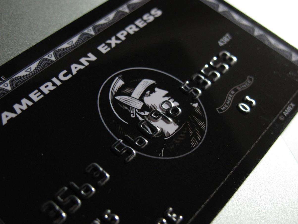 American Express Black Card, schwarze Amex