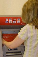 Sparkasse Guthabenkonto Geldautomat