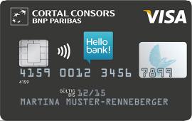 Cortal Consors Karte