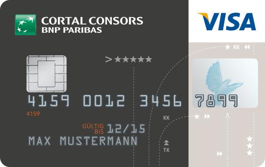 Cortal Consors Visa