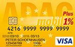 ADAC Club Mobil Prepaid Karte