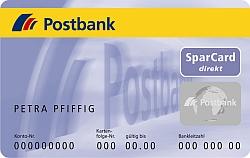 Postbank Sparcard 3000 direkt